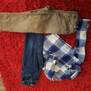 Boys 3T pants set
